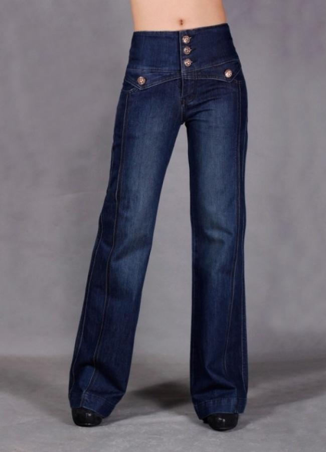 Bell-bottom jeans