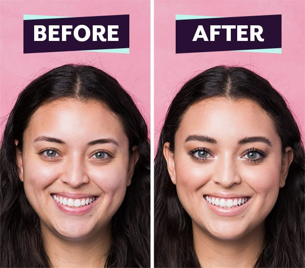 For Jessica, Sir John showed us how to do a simple everyday look and he added a little YAAAS-factor by packing on the mascara.
