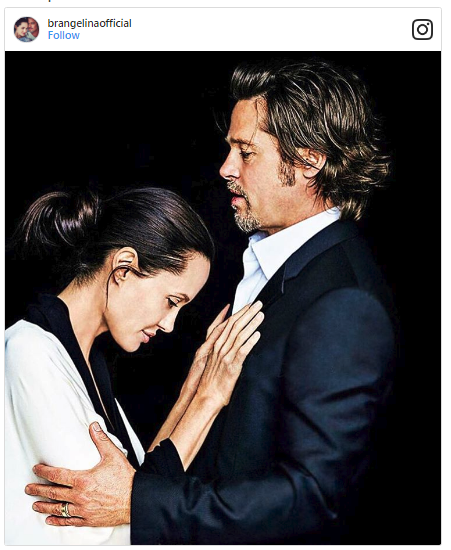 So, how far is Angelina's new home from Brad Pittt's palace?
