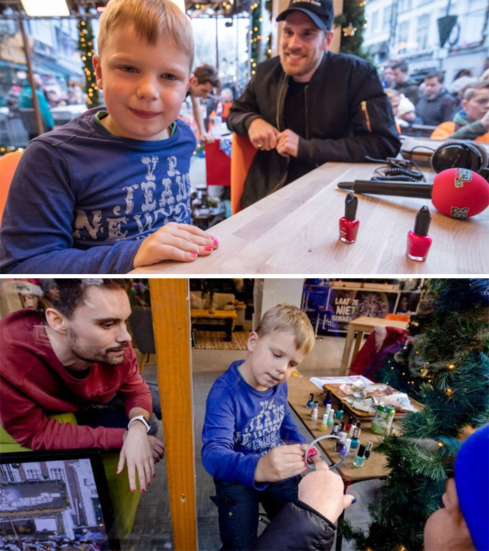 17. Tijn Has One Last Wish: To Prevent Children Dying From Pneumonia. So He Challenged People To Paint Their Nails And Donate Money. He Has Raised Over 2.6 Million Euros To This Day