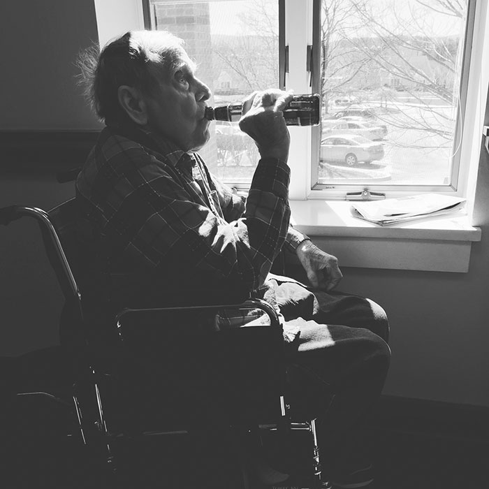 2. A Week Before My Grandfather Passed Away, I Snuck His Favorite Beer Into The Nursing Home For Him. It Was His Last Beer Ever