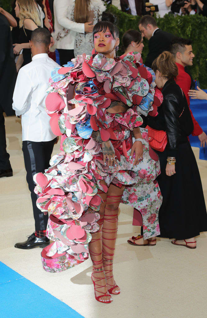 In short, designer Rei Kawakubo makes amazing, creative works of art that involve tons of hours of construction.