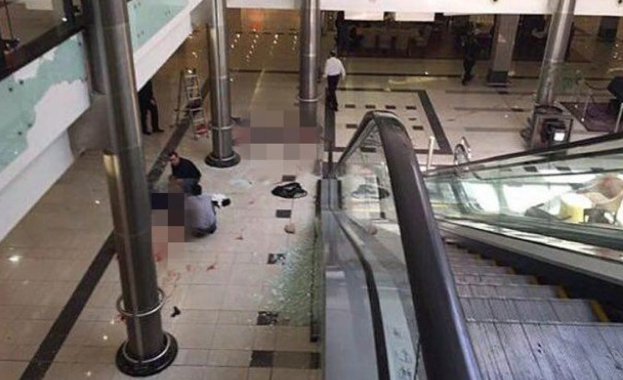 UPDATE:  More than one shooter at Munich shopping mall.