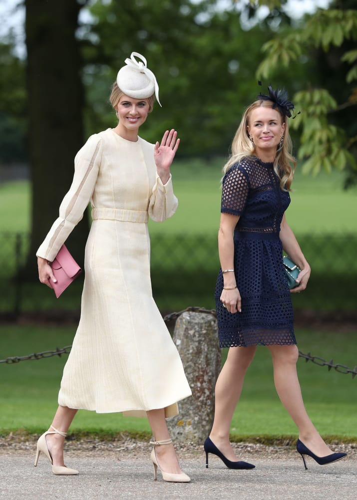 The wedding was also attended by former Byker Grove actor Donna Air, who's dating the Middletons' brother, James.
