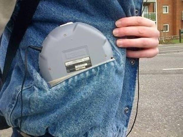 8. Anti-skip CD player