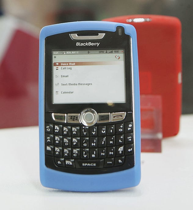18. The BlackBerry Ball