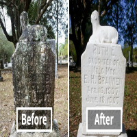 Every Sunday This Man Cleans Forgotten Veterans' Tombstones