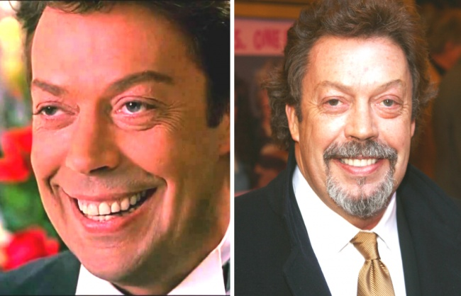 Mr. Hector played by Tim Curry