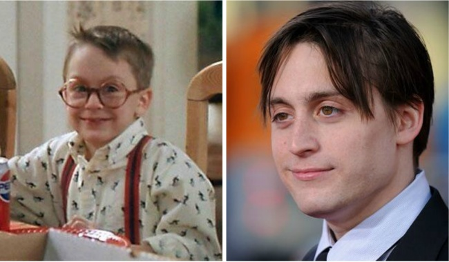 Fuller McCallister played by Kieran Culkin