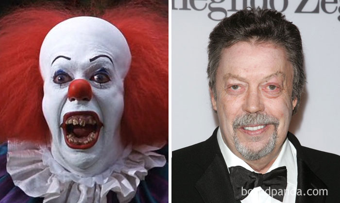 2.Pennywise - Tim Curry (It, 1990)