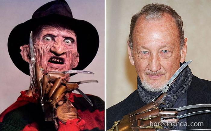 8. Freddy Krueger - Robert Englund (A Nightmare On Elm Street, 1984)