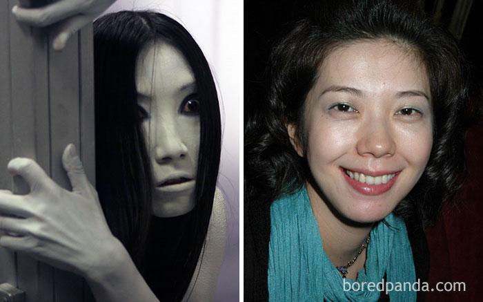 5. Kayako - Takako Fuji (The Grudge, 2004)