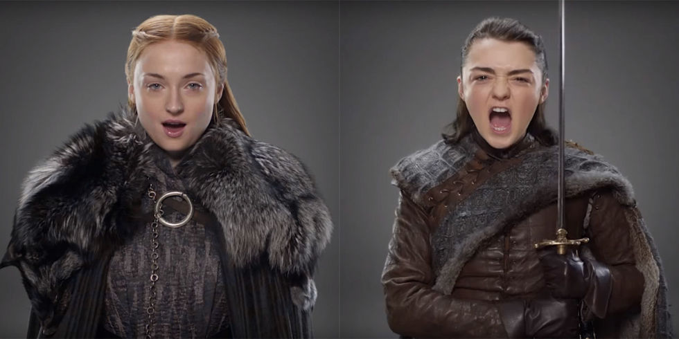 HBO just released a couple of promos featuring the characters from all its hit shows, but it included some extra Easter eggs for Game of Thrones fans.
