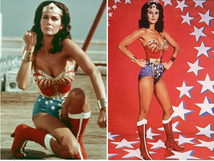 Less than a year later, Lynda Carter played Wonder Woman in a television show that lasted three seasons.