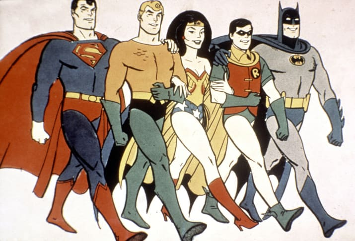 She was also a part of the Super Friends animated series, which ran from 1973 until 1986.