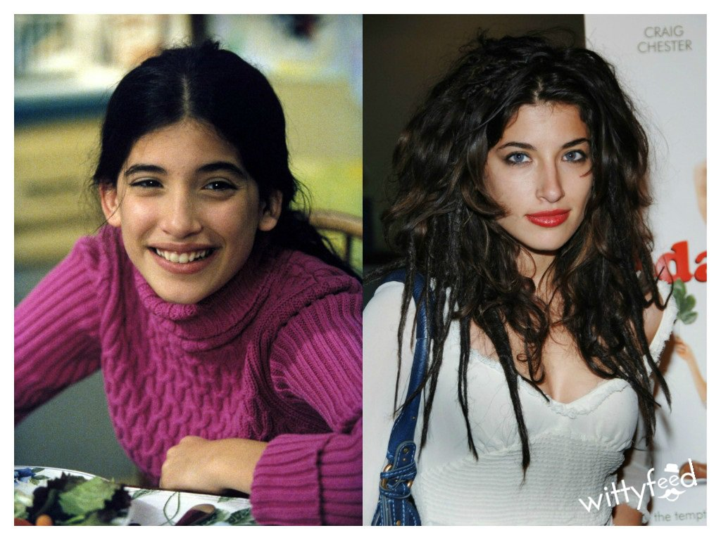 Tania Raymonde (Malcom in the Middle), then & now