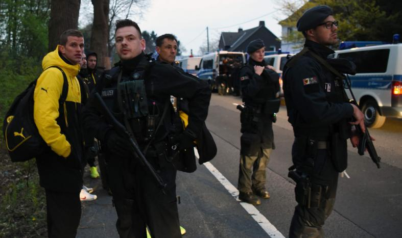 According to the details provided by the Dortmund Police spokesman, the team had left the hotel around 7:00 p.m. local for the Union of European Football Associations (UEFA) Champions League quarterfinals match.