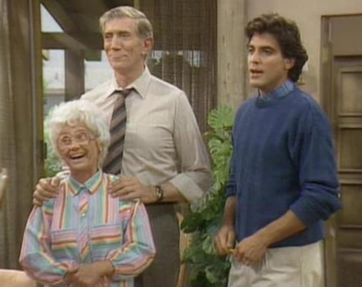 26. George Clooney — The Golden Girls