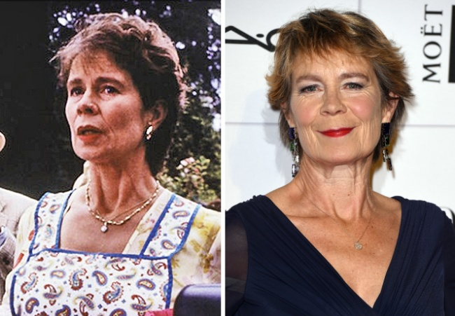 Celia Imrie — Una (friend of Bridget's mother)