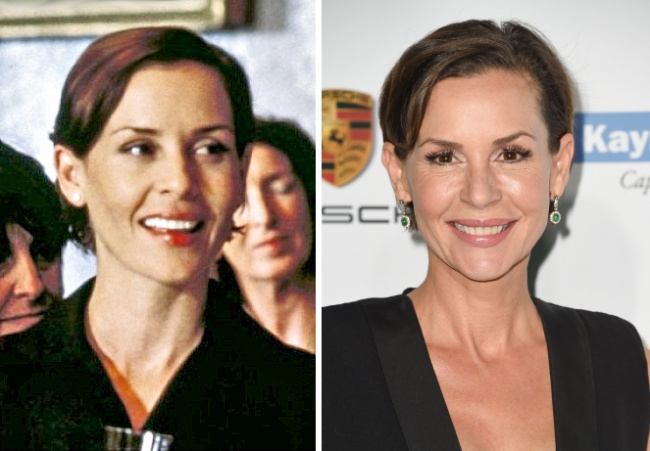 Embeth Davidtz — Natasha Glenville (Mark Darcy's colleague)