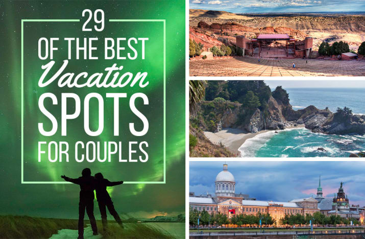 Viralitytoday 29 of the best vacation destinations for for Top vacation destinations for couples