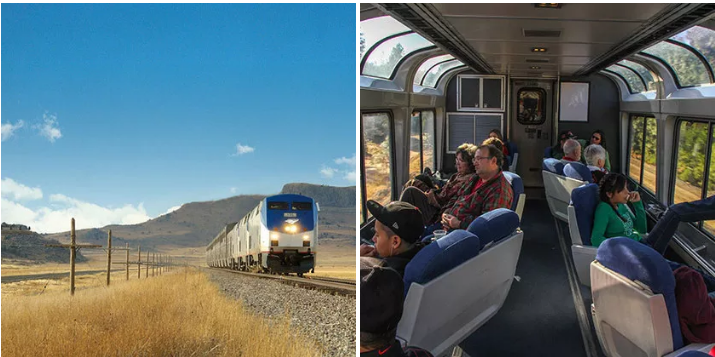 11. Hop on an Amtrak train and see the country: