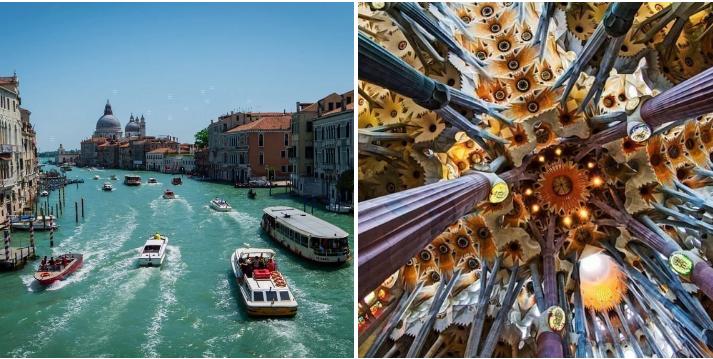 25. Set sail on a European cruise: