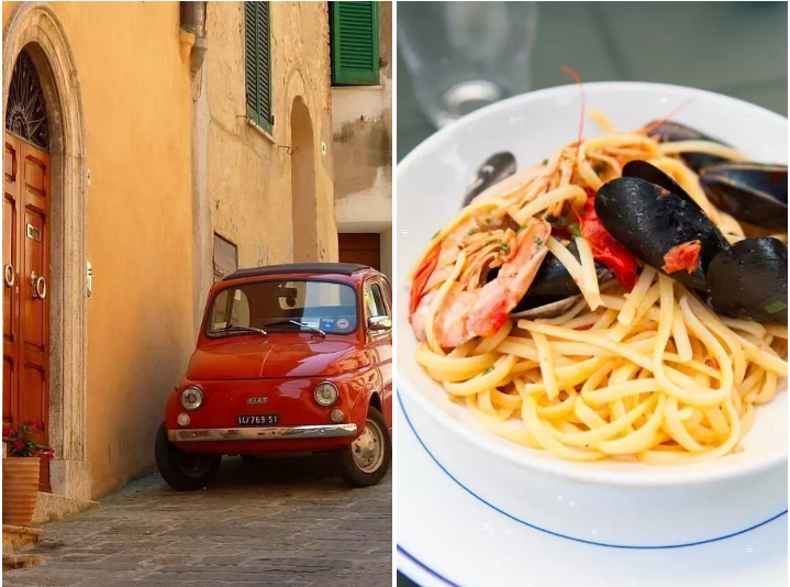 21. Or travel Italy by car: