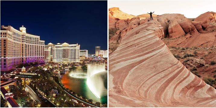 13. Live it up in Las Vegas: