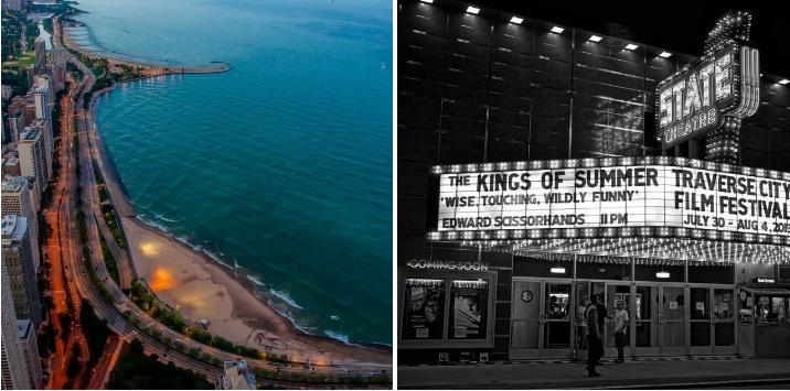 9. Take the scenic route around Lake Michigan: