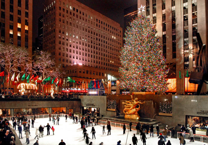 10. Head to New York City for the holidays: