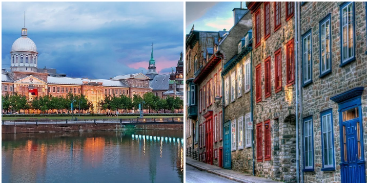 12. Head north to Montreal & Quebec City:
