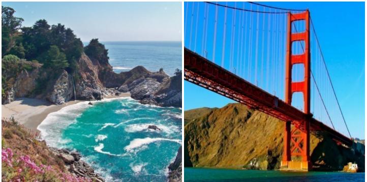 1. Roadtrip up the California coast: