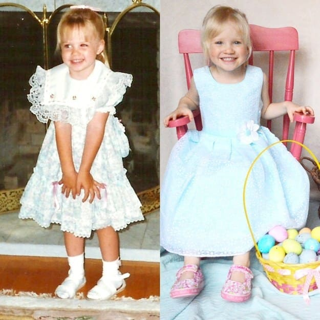 17. These adorable matching Easter bunnies.