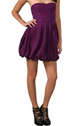 21. Bubble hem dresses: