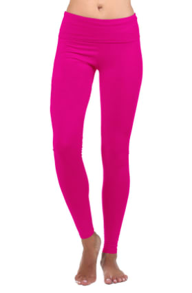 14. Colorful leggings: