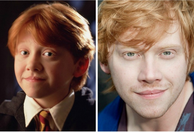 Ron Weasley played by Rupert Grint