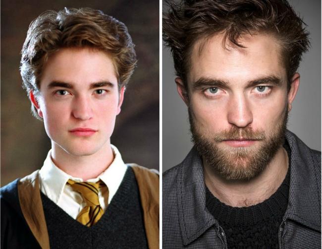 Cedric Diggory played by Robert Pattinson