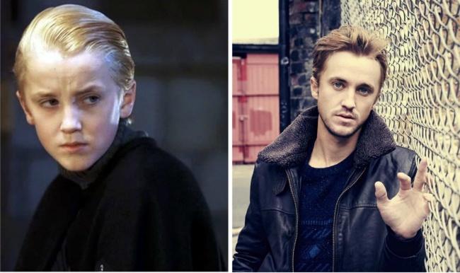Draco Malfoy played by Tom Felton