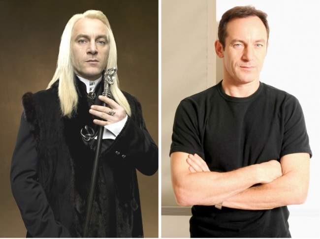 Lucius Malfoy played by Jason Isaacs