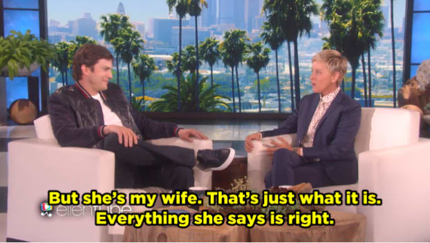 IDK if you can *actually* predict your baby's name — but if Ashton said Mila's right, then Mila is right!