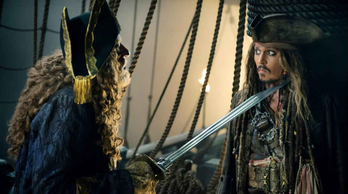Captain Hector Barbossa again gives a great performance.
