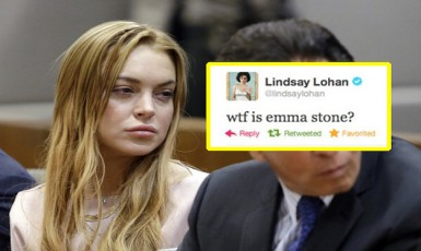 23 Deleted Lindsay Lohan Tweets That Belong In A Fucking Museum