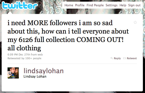 5. That time she begged for more followers: