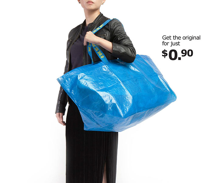 But now IKEA has also joined in the fun by mocking Balenciaga's new bag in their own special way.