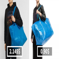 IKEA Responds To Balenciaga's $2,145 Bag That Looks Exactly Like IKEA's 99-Cent Tote Bag