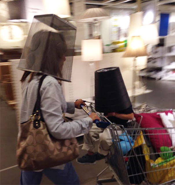 #22 My Kid Decided To Be An Astronaut In IKEA And My Mom Followed Suit