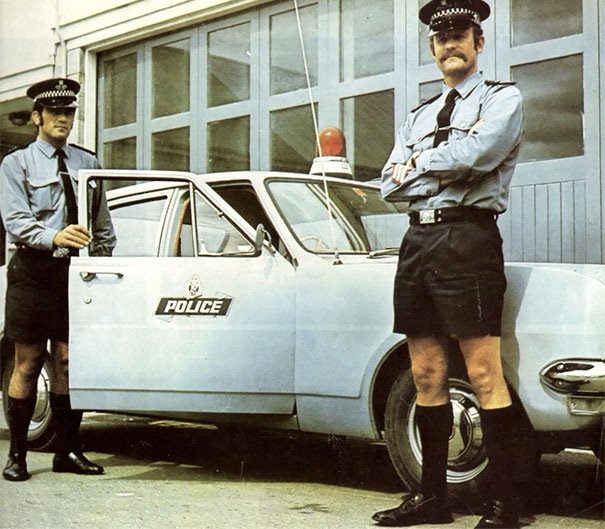 Bermuda police at your service.