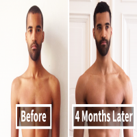 Unbelievable Before & After Fitness Transformations Show How Long It Took People To Get Ripped