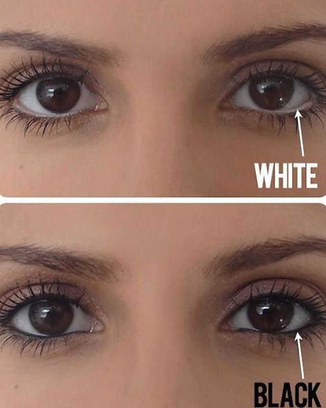 3. Make small eyes look bigger and large eyes smaller.